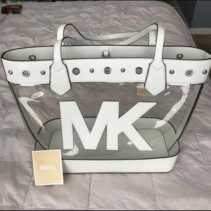 Michael Kors Clear tote bag
